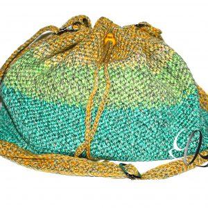 handbag Grün-Gelb