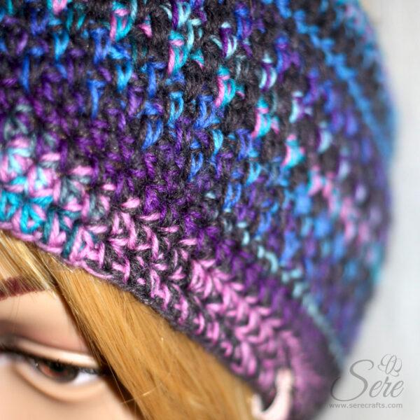 Stirnband, handgemacht, aus Schurwolle
